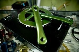 Beautiful Sugino Cranks